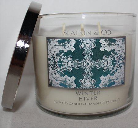 Slatkin & Co. Bath & Body Works Winter Candle Review & Pics