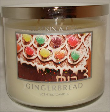 Slatkin & Co. Gingerbread Candle Review & Pictures Bath & Body Works smaller
