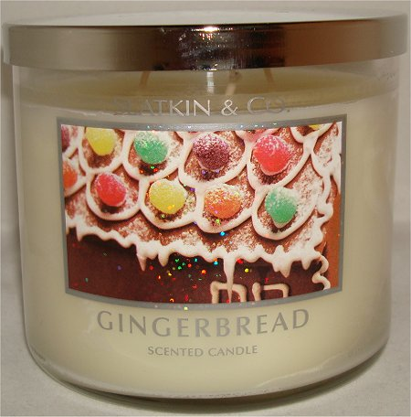 Slatkin & Co. Gingerbread Candle Review & Pictures Bath & Body Works