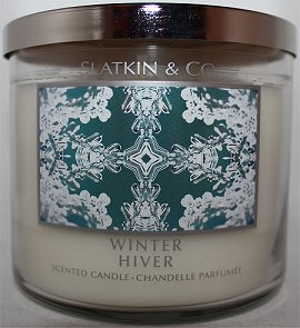 Slatkin & Co. Winter Candle Review & Pictures smaller
