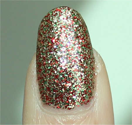 Sunlight China Glaze Twinkle Lights Review & Swatch Let It Snow Collection
