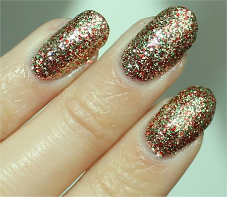 Sunlight China Glaze Twinkle Lights Review & Swatches Let It Snow Pictures