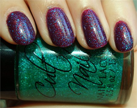 Sunlight Cult Nails Hypnotize Me Swatch & Review Cult Nails Iconic Swatch & Review