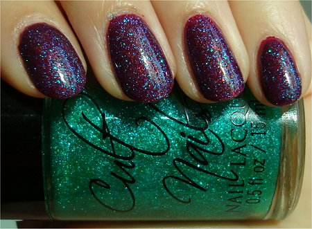 Sunlight Cult Nails Hypnotize Me Swatch & Review Cult Nails Iconic Swatches & Review