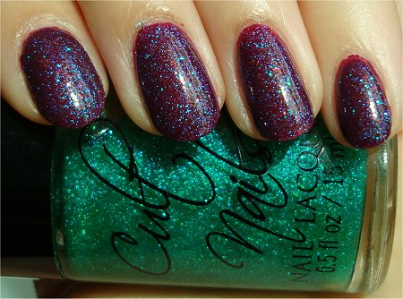 Sunlight Cult Nails Hypnotize Me Swatches & Review Cult Nails Iconic Swatch & Review