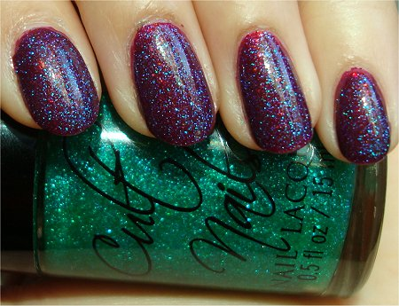 Sunlight Cult Nails Iconic Swatch & Review Cult Nails Hypnotize Me Swatch & Review