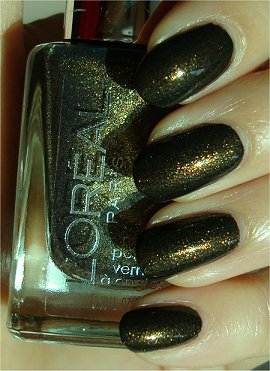 Sunlight L'Oreal Owl's Night Swatches & Review