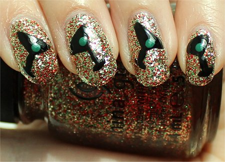 Sunlight New Years Eve Nail Art Tutorial Martini Nails