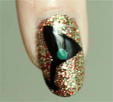 Sunlight New Year's Eve Nail Art Tutorial Martini Nails