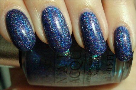 Sunlight OPI DS Glamor Swatches & Review