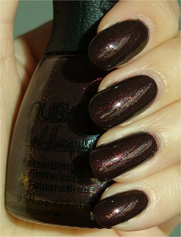 Sunlight Raspberry Truffle Nubar Swatch & Review
