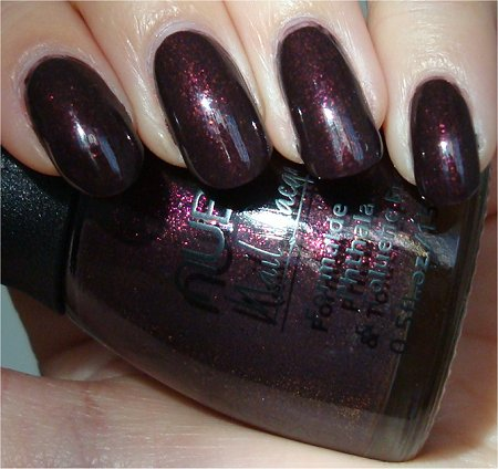 Sunlight Raspberry Truffle by Nubar Swatch & Review