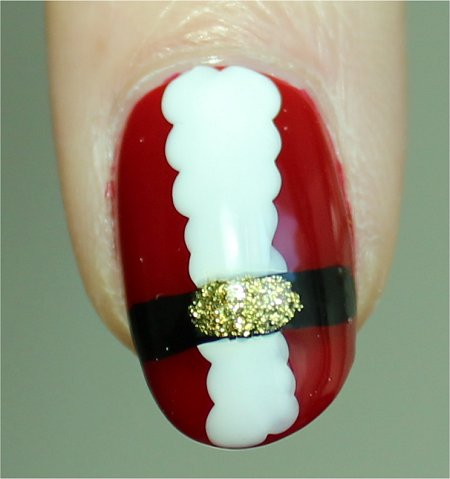 Sunlight Santa Claus Nail Art Nails