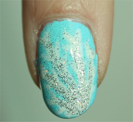 Sunlight Snowflake Nail Art Step-by-Step Tutorial & Pictures