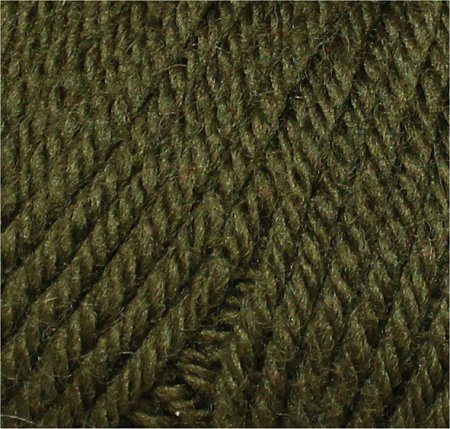 Swampy Green Wool for Knitting My First Hat