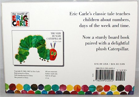 The Very Hungry Caterpillar Book Eric Carle