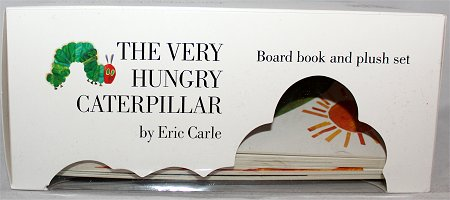 The Very Hungry Caterpillar Eric Carle Book & Plush Set