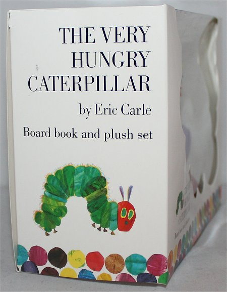 The Very Hungry Caterpillar by Eric Carle Book & Plush Set