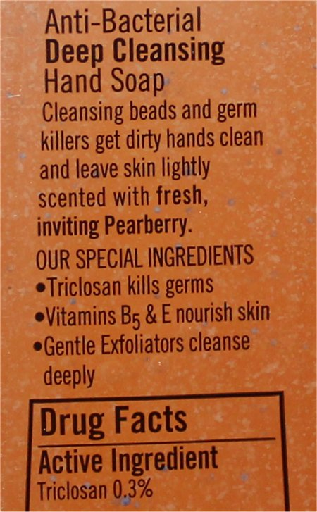 Bath and Body Works Pearberry Hand Soap Deep Cleaning Ingredients, Review & Pics