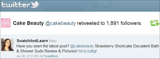 Cake Beauty Twitter Swatch And Learn