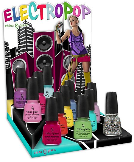 China Glaze Electropop Collection Spring 2012 Press Release & Promo Pictures