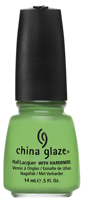 China Glaze Gaga For Green Electropop Collection Pictures & Press Release