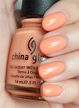 China Glaze Peachy Keen Swatches &amp; Review