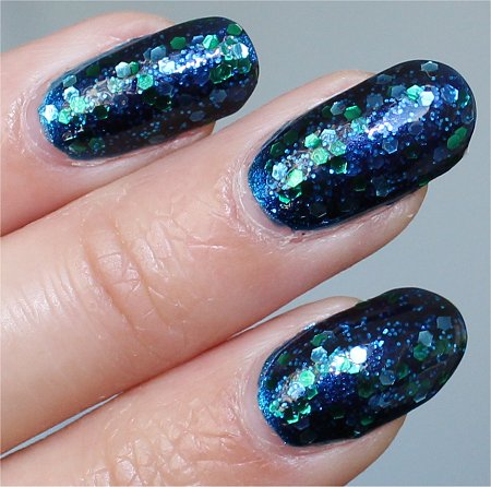 Flash Across the Universe Deborah Lippmann Swatches & Review