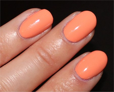 Flash China Glaze Peachy Keen Swatches &amp; Review