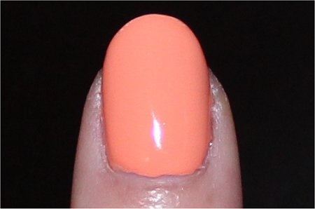 Flash China Glaze Up &amp; Away Peachy Keen Swatch &amp; Review