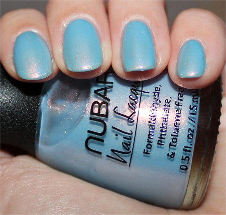 Flash Nubar Duochrome Nail Polishes Midnight Glory Swatch & Review