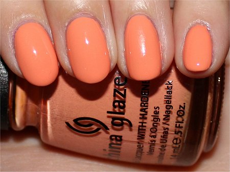 Flash Peachy Keen China Glaze Review &amp; Swatches