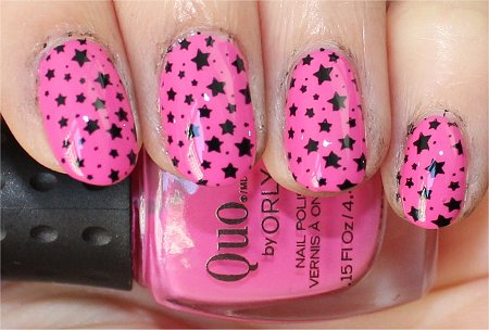 Flash Star Nail Art Konad m 84 Image Plate Review &amp; Pics