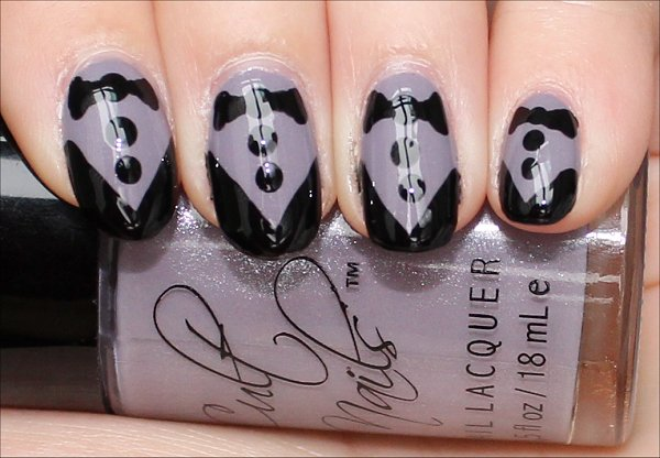 Flash Tuxedo Nail Art Tutorial Pictures & Swatches