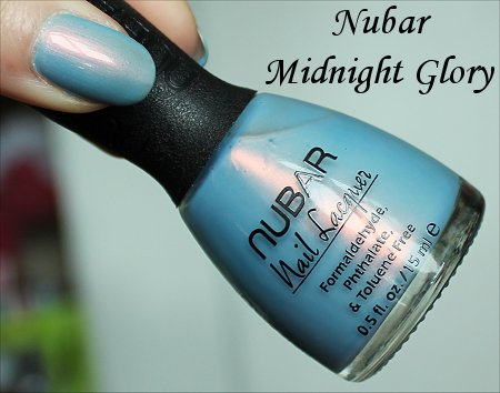 Midnight Glory by Nubar Swatch, Review & Bottle Pics