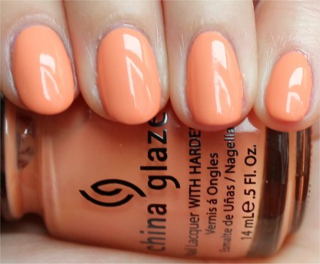 Natural Light China Glaze Peachy Keen Review & Pics