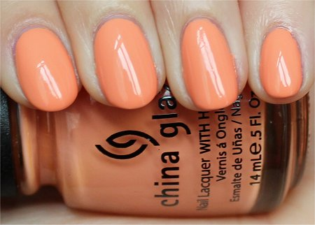 Natural Light China Glaze Peachy Keen Review & Swatch