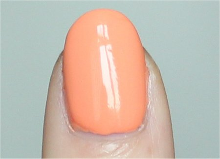 Natural Light China Glaze Peachy Keen Swatch & Review
