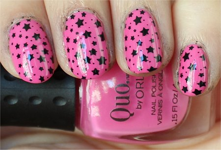 Natural Light Konad Image Plate m84 Star Nails Nail Art Pictures