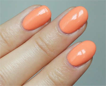 Natural Light Peachy Keen China Glaze Swatches &amp; Review