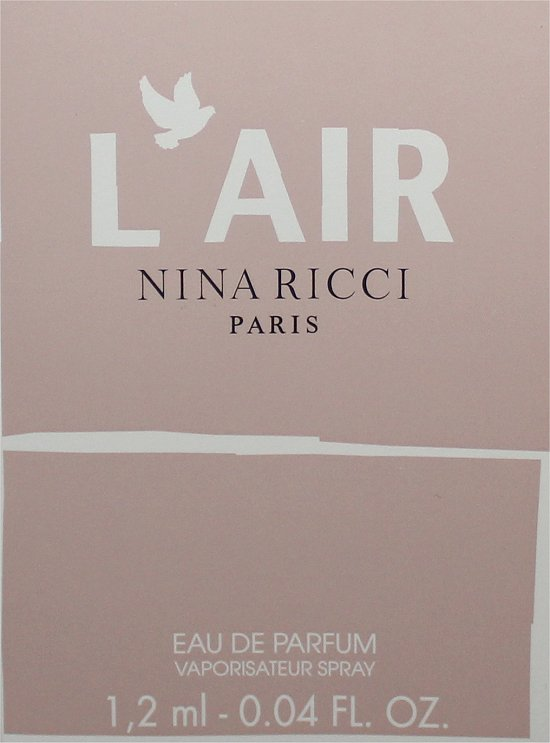 Nina Ricci L'Air January LuxeBox Review & Pics