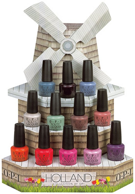 OPI Holland Collection Press Release Spring Summer 2012