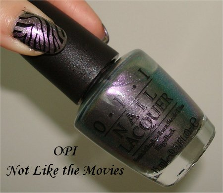 OPI Not Like the Movies Review & Bottle Pics