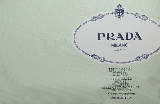Prada Infusion D'Iris January Luxe Box Review & Pictures