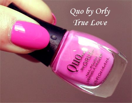 Quo by Orly True Love Review & Bottle Pictures