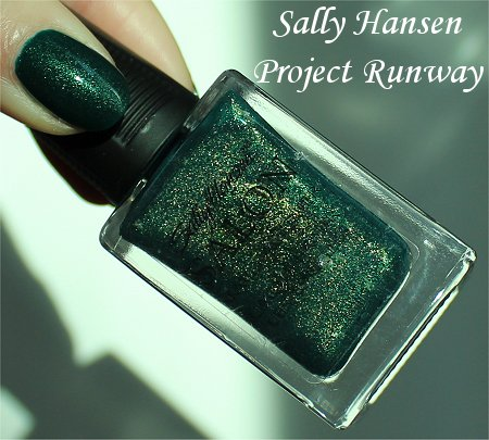 Sally Hansen Project Runway Review & Bottle Pictures