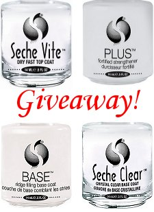 Seche Giveaway on Swatch And Learn