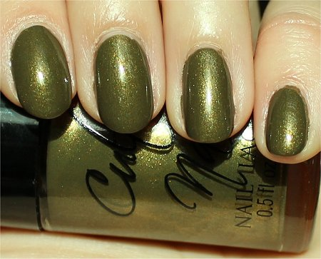 Sunlight In A Trance Cult Nails Nail Polish Swatches & Review