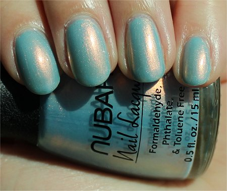 Sunlight Midnight Glory by Nubar Swatches & Review