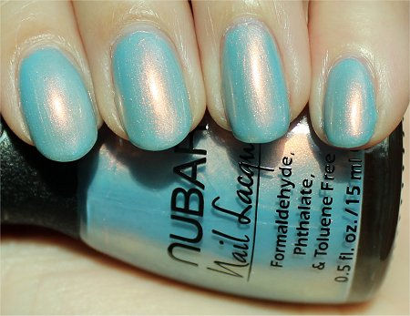 Sunlight Nubar Midnight Glory Swatch & Pictures